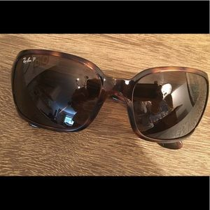 🌿Ray-Ban RB 4068 Square Wrap Sunglasses